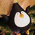 Penguin Ornament Love