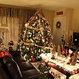 Rustic Christmas Living Room 3